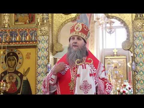 Митрополит Даниил совершил последнюю праздничную Литургию Светлой седмицы