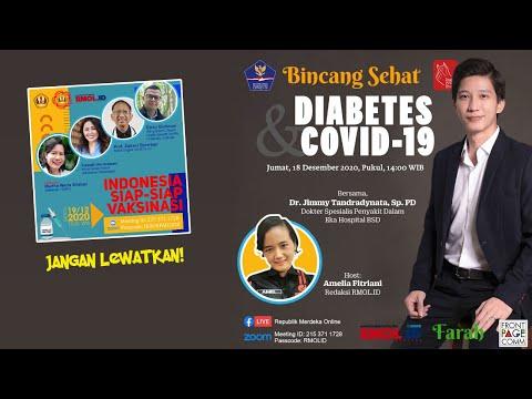 BINCANG SEHAT • Diabetes & COVID 19