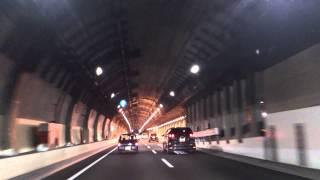 首都高中央環状線板橋JCT、熊野町JCT~山手トンネル2013.6.23日曜20時頃