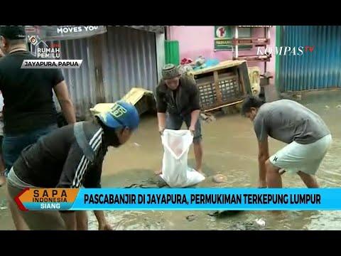 Pasca-Banjir di Jayapura, Permukiman Terkepung Lumpur