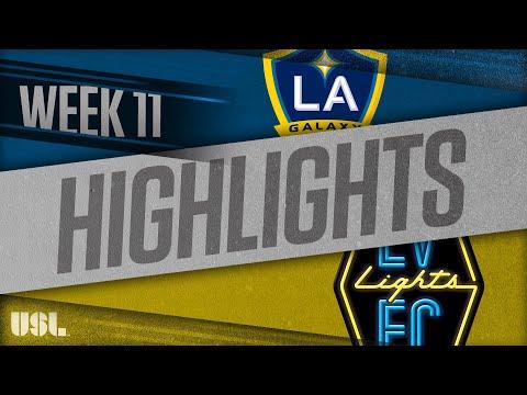 LA Galaxy 2 - Las Vegas Lights 7:2. Видеообзор матча 27.05.2018. Видео голов и опасных моментов игры