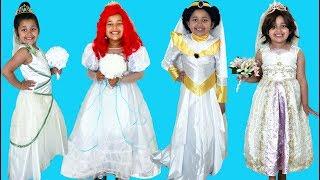 Disney Princess Royal Wedding Halloween Costumes and Toys