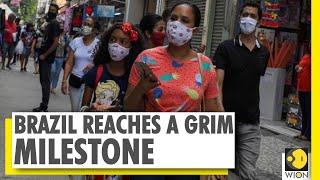 Brazil Crosses 1 Lakh Coronavirus Deaths | South America | Sao Paulo | World News