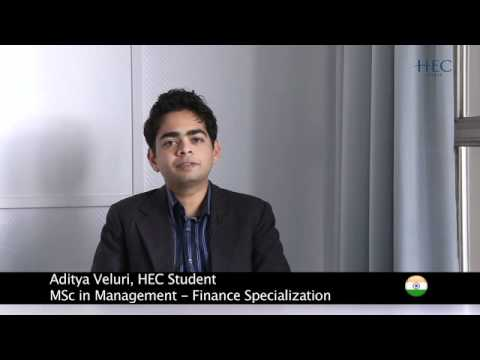 Students' feedback about HEC MSc in Management - Grande Ecole