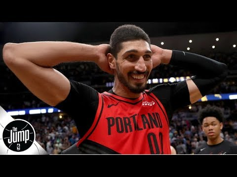 Did the Blazers really only give Enes Kanter 6 minutes to decide on a contract? | The Jump