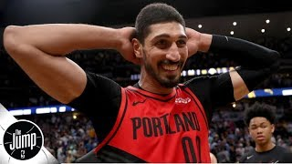 Did the Blazers really only give Enes Kanter 6 minutes to decide on a contract?   The Jump