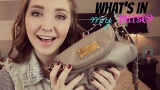 What's In My Purse? + how to win gift cards | Kenzie Elizabeth