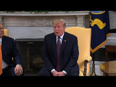 President Donald Trump says he's going to take further action to help the nation's farmers in the midst of an escalating trade war with China. (May 13)