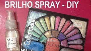 Brilho (Madrepérola) Em Spray, Como Fazer? - DIY - Estúdio Brigit