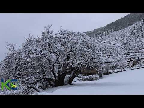 HEAVY SNOW Fall IN Humla (Beautiful view) हिमपात को सुन्दर दृष्य