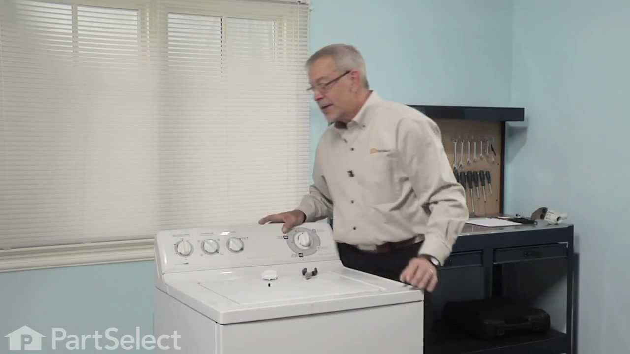 Replacing your General Electric Dryer Control Knob and Clip - White