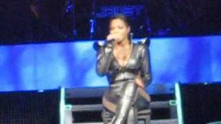 Janet Jackson - Live 2011 in Atlantic City - March 25 - Montage of Songs