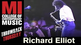 TBT to Richard Elliot from Official Tower of Power Band shredding the