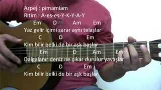 Gitar Dersi - Özledim (Murat Boz)
