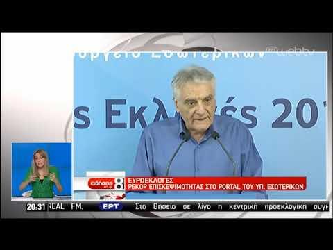 Ο εκλογικός μαραθώνιος στην ΕΡΤ: Ασφαλής εκτίμηση αποτελέσματος στις 21:00 | 04/07/2019 | ΕΡΤ