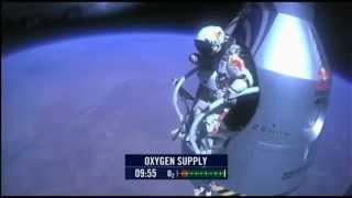Felix Baumgartner Red Bull Stratos (M83 - Outro) 14/10/2012