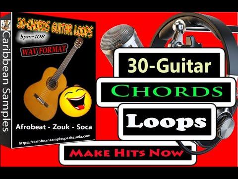 30-Chords Guitar Loops/Afro-beat/Zouk/Soca