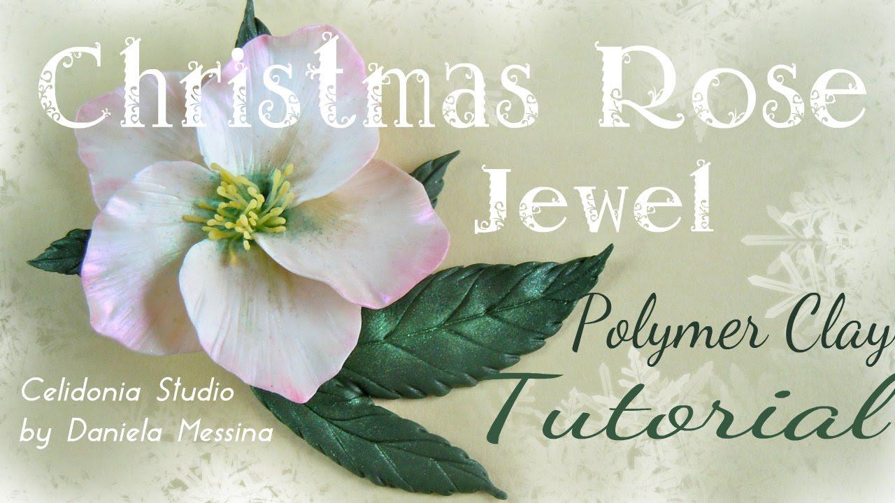 Come realizzare una magica Rosa di Natale (o Rosa d'Inverno) ♥ VIDEOTUTORIAL
