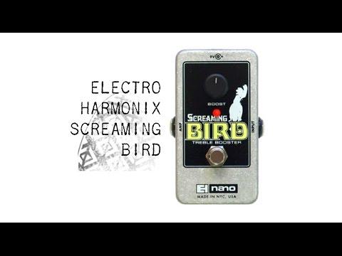 ELECTRO HARMONIX Screaming Bird Kytarový efekt