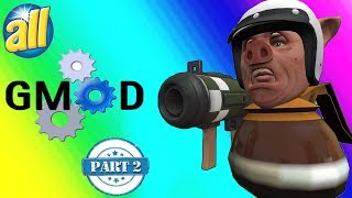 VanossGaming Edition: All gmod funny moments in 2017 [ Part 2]
