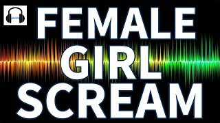 woman screaming girl sound effect - TH-Clip