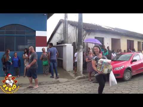 Prefeito Ayres Scorsatto acompanha a distribuição da Cesta de Natal para os Funcionários 2017