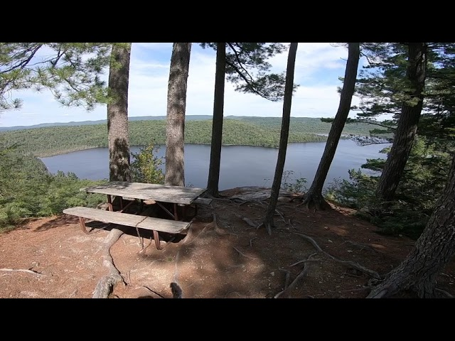 The Hike to the Helenbar Lake Lookout in Mississagi Provincial Park