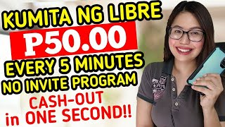 NO INVITE LINK: GET FREE P50 EVERY 5 MINUTES | CASH-OUT AGAD IN 1 SECOND | EASIEST WAY TO EARN FREE!