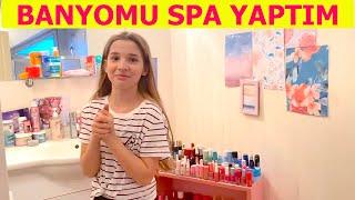 Banyomu Spaya Çeviriyorum Vlog. Ecrin Su Çoban