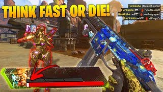 THINK FAST or DIE - Best 1 HP Outplays & Moments - Apex Legends