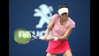 Hsieh Su-Wei   2019 Miami Open Day 5   Shot of the Day