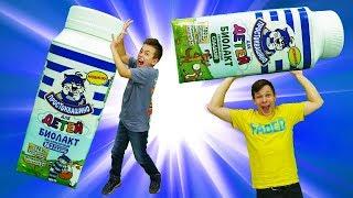 Супер Челлендж без рук и вкуснятина от Простоквашино. Игры для детей