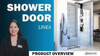 Watch Dreamline Linea Shower Door Shower Enclosure Product Video