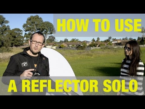 How to use a reflector with no assistant