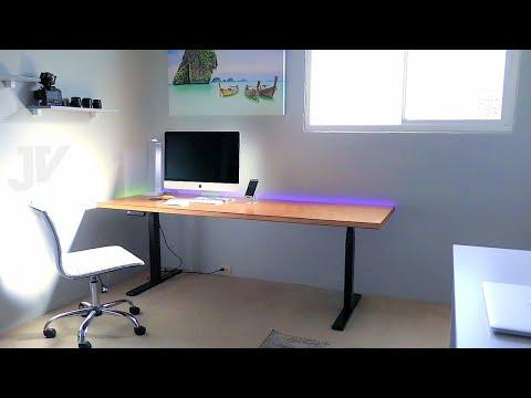 DIY Electric Standing Desk - with a Door