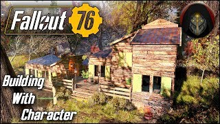 A Cabin With Character | FALLOUT 76 - Camp Building Guide