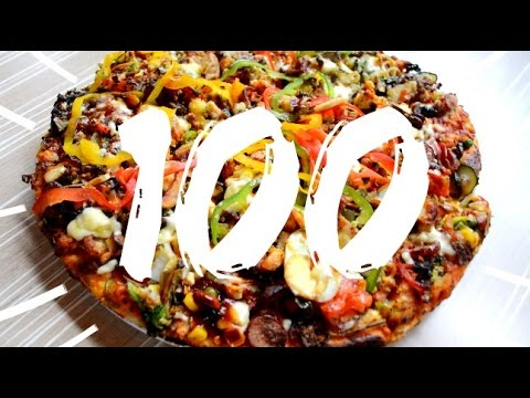 100 Layers Of Pizza Toppings! 🍕  // FindingZola