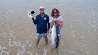 Drone Fishing For Tuna