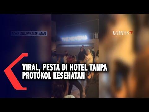 viral pesta di hotel tanpa protokol kesehatan