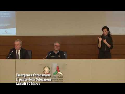 CORONAVIRUS LUNEDI' 30 MARZO OLTRE 11500 DECESSI IN ITALIA MA IL CONTAGIO RALLENTA
