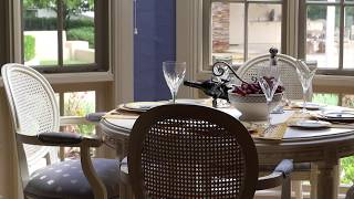 FRENCH INTERIOR DESIGN   FAMILY ROOM   PROVENCE STYLE LOUNGE AND DINING