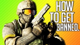 HOW TO GET BANNED | Battlefield: Bad Company 2