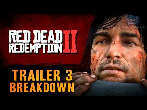 Red Dead Redemption 2 - Trailer #3 Breakdown