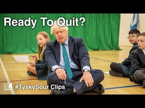 Is Boris Johnson Ready To Quit?