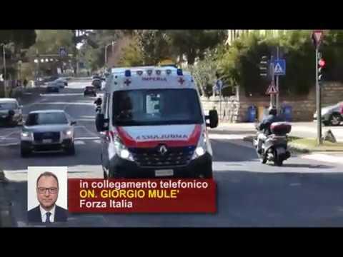 GIORGIO MULE' DONA DISPOSITIVI DI PROTEZIONE E DISINFETTANTE ALLA CROCE ROSSA DI IMPERIA
