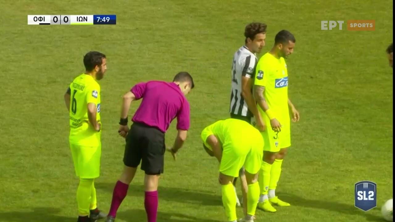 Super League 2 | ΟΦ Ιεράπετρας – Ιωνικός 1-2 | 21/03/21 | ΕΡΤ