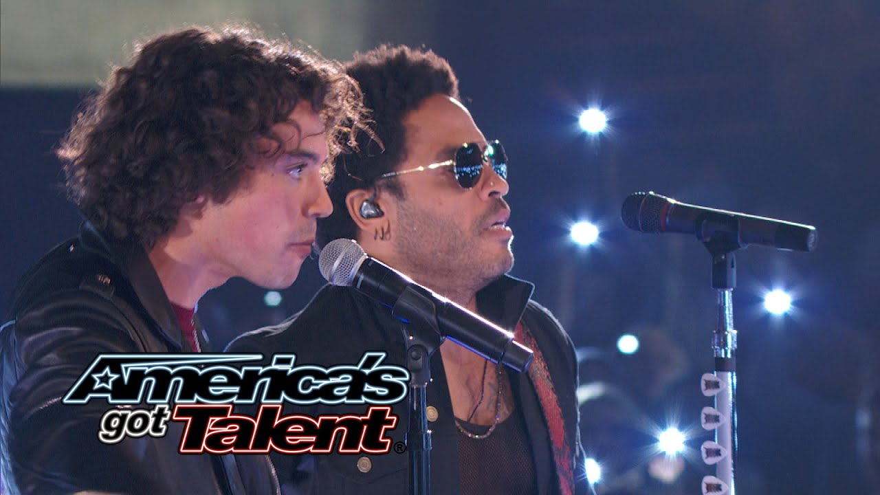Miguel Dakota: Lenny Kravitz Joins Rocker Onstage - America's Got Talent 2014 Finale thumbnail