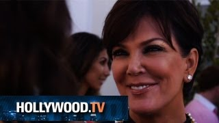 Kris Jenner Tells Us About Baby North Jaden And Kylie And Her New Talk Show  HollywoodTV