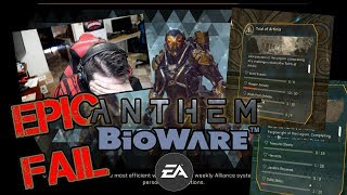 """Anthem Loading Screens & """"Tomb"""" GRIND - Angry Rant!"""