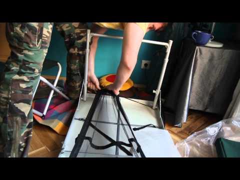 Набор складной мебели FTFS-1. Видеообзор.